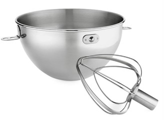 KitchenAid Stainless Steel Bowl and Combi-Whip