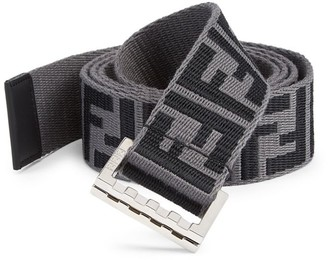 Fendi FF Web Belt