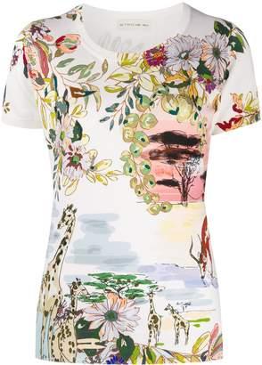 Etro floral-print T-shirt