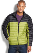Hawke & Co Outfitter Jacket, Lightweight Packable Colorblocked Down Jacket