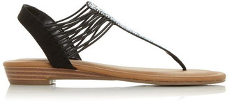 Roberto Vianni Lancii Strappy Tbar Sandals