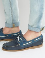 Timberland Classic Denim Boat Shoes