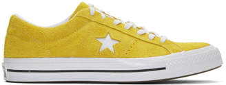 Converse Yellow Suede One Star Vintage OX Sneakers