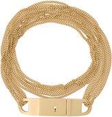 Luis Morais multi chain lock bracelet