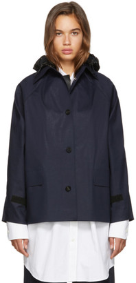 Kassl Editions SSENSE Exclusive Navy D-Hip Jacket