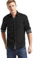 Gap Double-face standard fit shirt