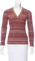 Dolce & Gabbana Wool Striped Sweater