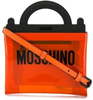 Moschino PVC Logo handbag