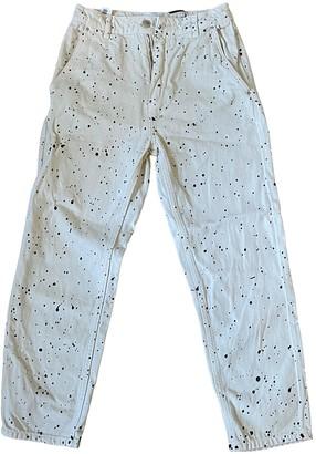 Polder Ecru Denim - Jeans Trousers for Women