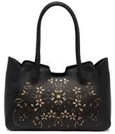 Nanette Lepore Lilli Lasercut Shoulder Bag