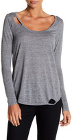 Chaser Vintage Cutout Long Sleeve Tee