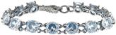 Bottega Veneta Cubic-zirconia and silver bracelet