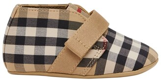 Burberry Kids Vintage Check Soft Shoes