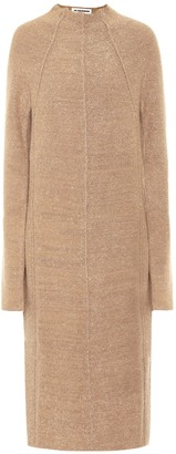 Jil Sander Cashmere-blend midi dress