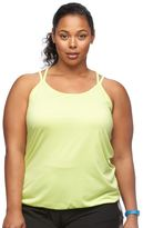 Tek Gear Plus Size Ribbed Racerback Tank