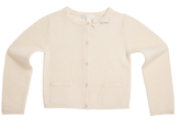 Marie Chantal GirlsCashmere Blend Bow Cardigan