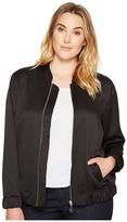 MICHAEL Michael Kors Plus Size Bomber Jacket Women's Coat