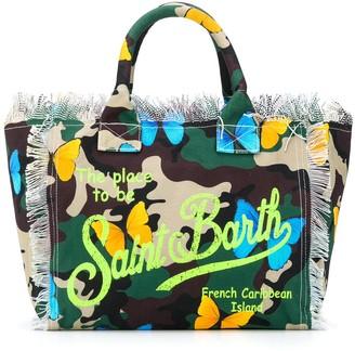 MC2 Saint Barth Camouflage Butterfly Beach Bag
