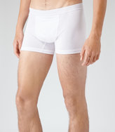 Reiss Reiss Ace - Cotton Trunks In White