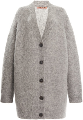 Acne Studios Rives Oversized Knitted Cardigan
