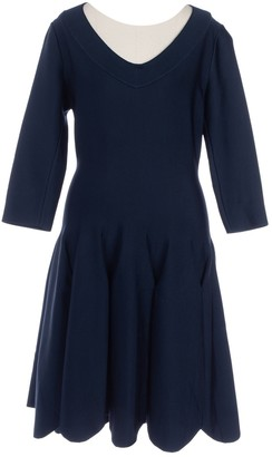 Alaia Navy Synthetic Dresses