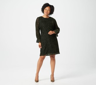 Sam Edelman Animal Burnout Velvet Dress