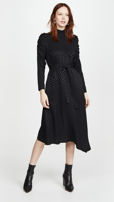 Paul Smith Black Long Sleeve Dot Dress