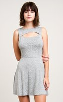RVCA Women's Peeker Dress Heather Grey