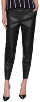 Theory Thaniel Leather Ankle Pant