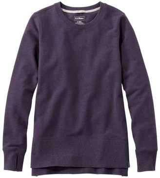 L.L. Bean Women's L.L.Bean Cozy Sweatshirt, Split-Hem