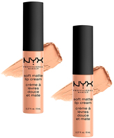NYX Cairo Soft Matte Lip Cream - Set of Two