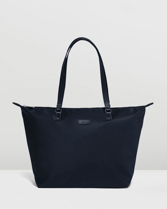 Lipault Paris - Women's Navy Tote Bags - Lady Plume Tote Bag Medium - Size One Size at The Iconic