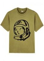 Billionaire Boys Club Chartreuse Printed Cotton T-shirt