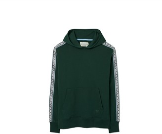 Tory Burch French Terry Geo-T Hoodie