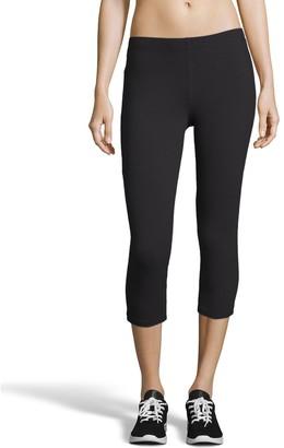 Hanes Women's Stretch Jersey Capri Leggings