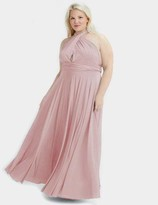 Two Birds Blush Convertible Ballgown Dress