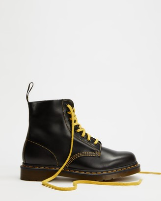 Dr. Martens Women's Grey Lace-up Boots - 1460 Pascal 8-Eye Boots - Women's - Size 6 at The Iconic
