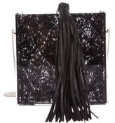 Charlotte Olympia Tassel Matchbox Evening Bag