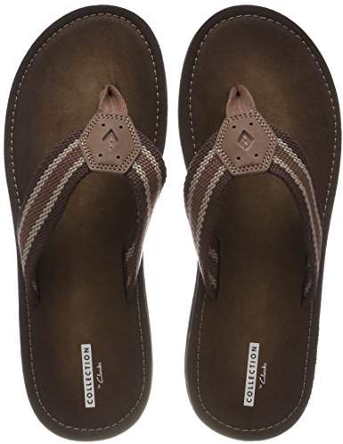 Lacono Men's Toe Sun Open Sandalsbrown KJlFT1c