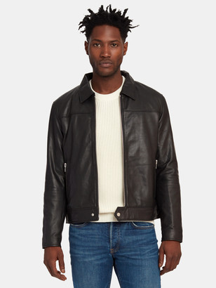 Deadwood Sharpe Leather Jacket