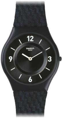Swatch Unisex Blue Textile Watch