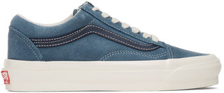 Vans Blue and Navy OG Old Skool LX Sneakers