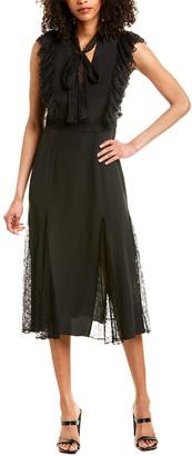 Alexis Sterling Silk Midi Dress