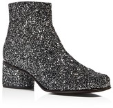 Marc Jacobs Camilla Glitter Ankle Booties