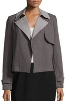 Tommy Hilfiger Collared Open-Front Jacket