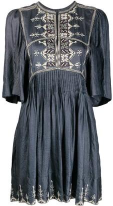 Etoile Isabel Marant Cross Stitch Dress