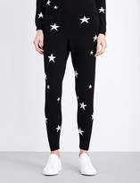 Chinti and Parker Star-motif cashmere jogging bottoms