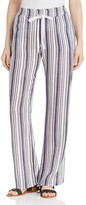 Three Dots Stripe Drawstring Pants