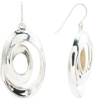 Made In Israel Sterling Silver Looped Earrings