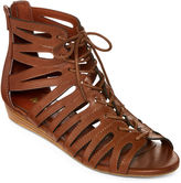Mia Girl Salena Demi Gladiator Wedge Sandals